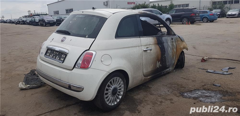 Fiat 500 din 2012, motor 1.242 benzina, tip 169.A4000