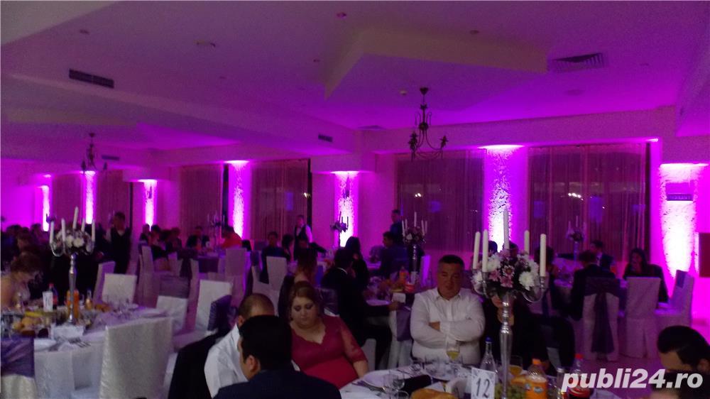 Lumini Arhitecturale/Ambientale nunta botez Bellagio Events Giurgiu