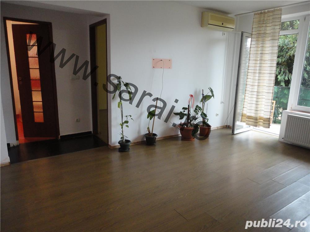 Zona Libertatii - Apartament cu 3 camere in bloc nou,bucatarie mobilata,balcon,loc parcare