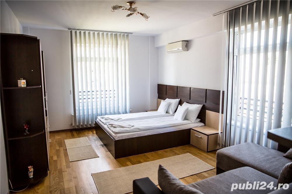 Cazare inchiriere regim hotelier central apart. 1 cam. cart. luceafarul lux Oradea