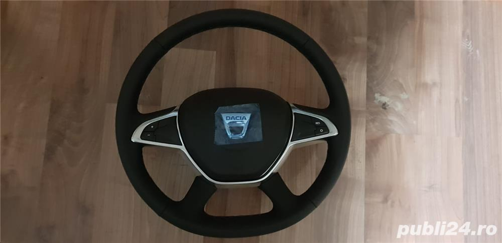 Volan piele cu comenzi + capac Dacia Dokker , Dacia Dokker Express Nou