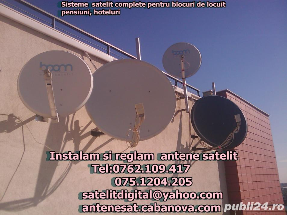 instalare antene satelit in bucuresti si ilfov