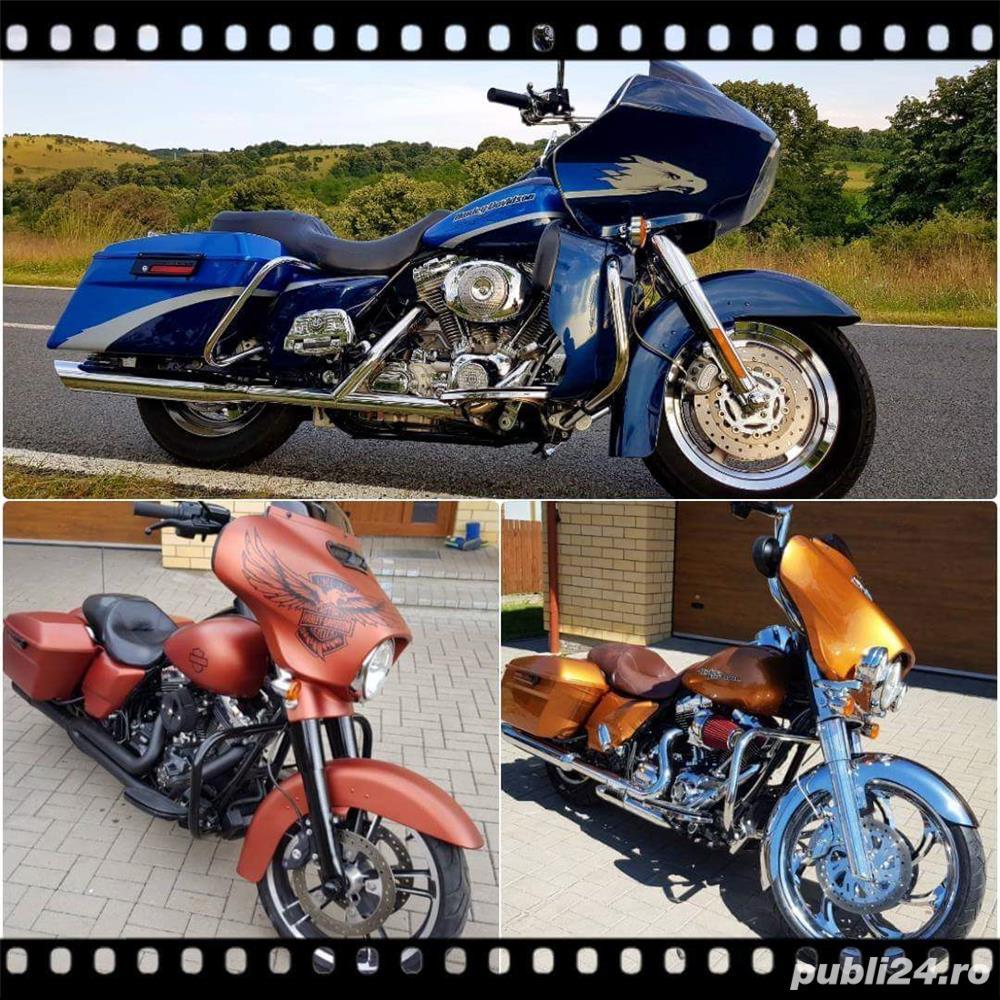 Harley Davidson Road Glide Street Glide Road King Electra Glide FatBoy