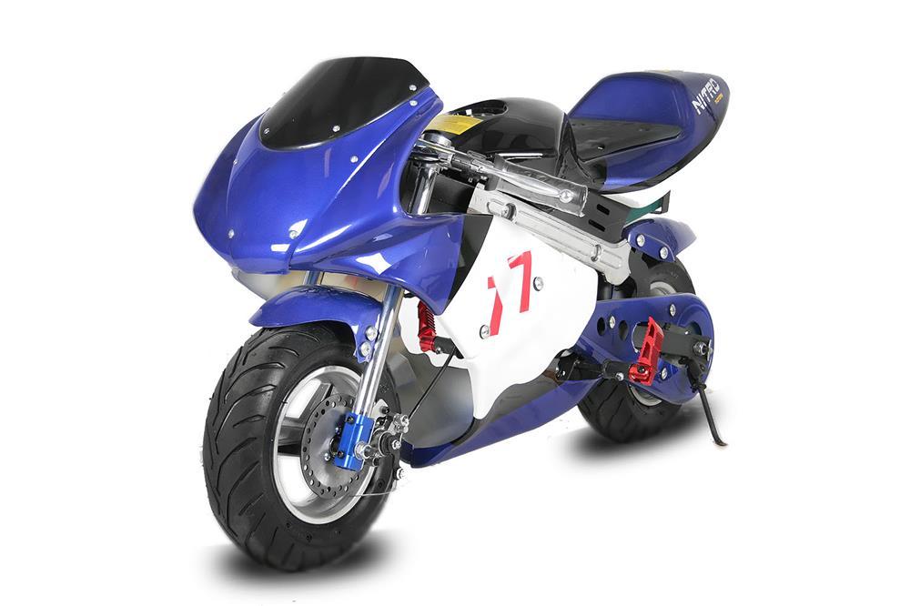 Altele Motocicleta electrica pentru copii NITRO Eco Pocket Bike 800W