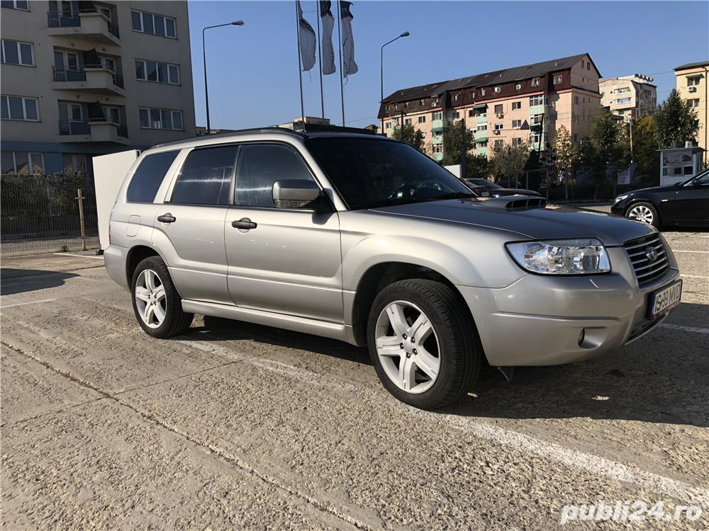 Subaru Forester 2.5 XT, 230 cp, AT, 4x4, piele piese noi