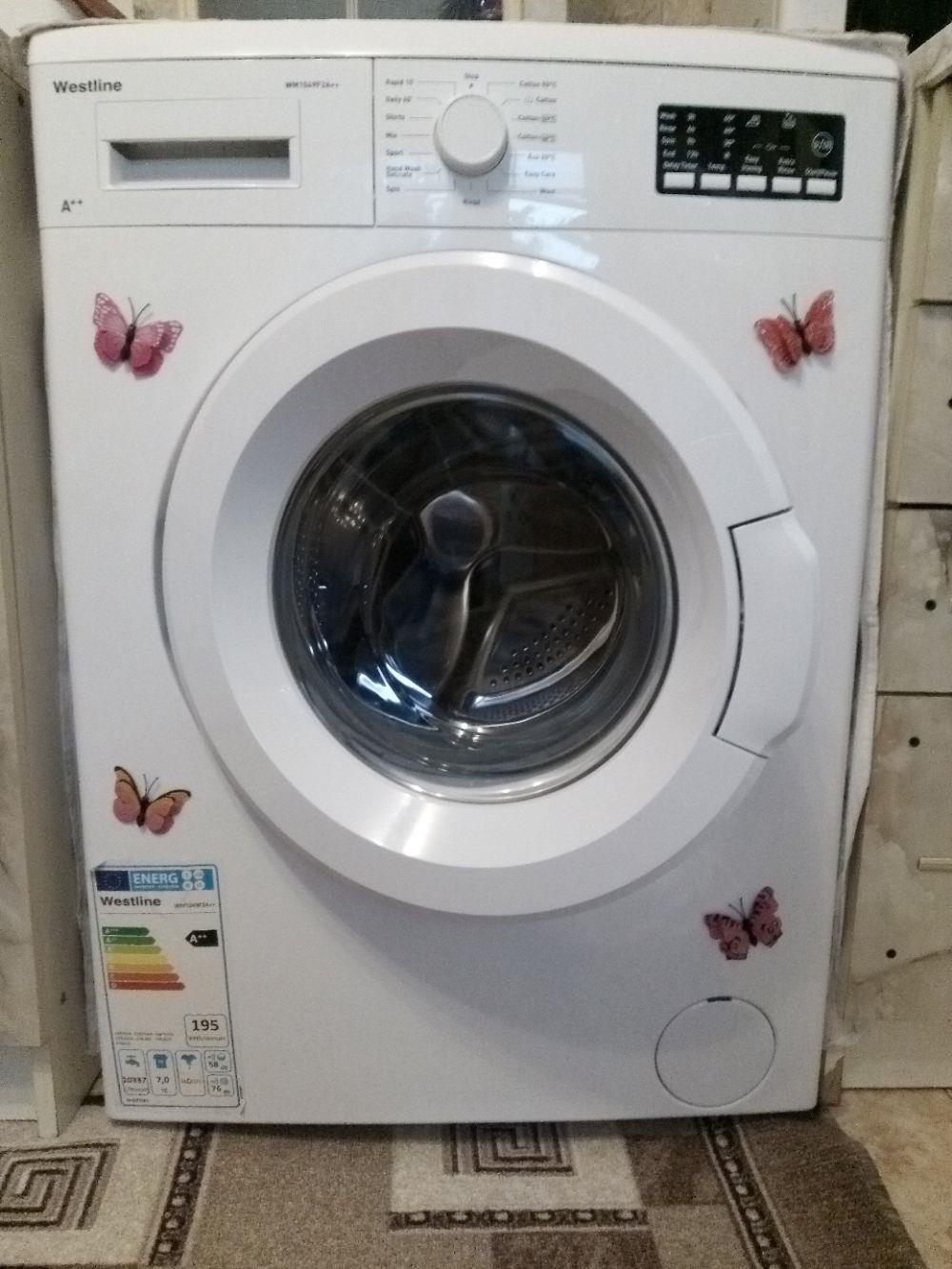 Mașina de spălat rufe Westline ,categoria A++,1200  de rotații,7 Kg