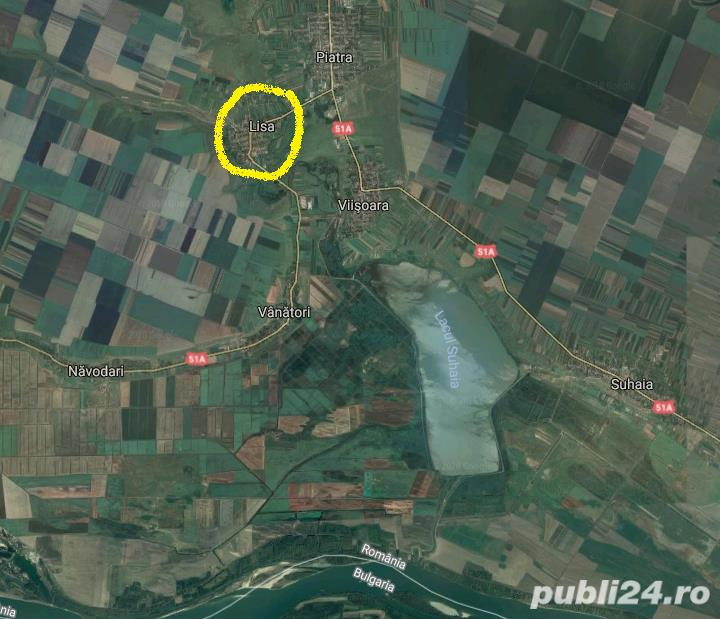 vand teren intravilan + casa, comuna Lisa - Teleorman