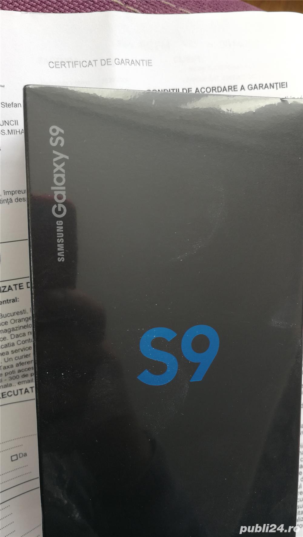 SAMSUNG S9 nou sigilat cu factura si garantie 2 ani