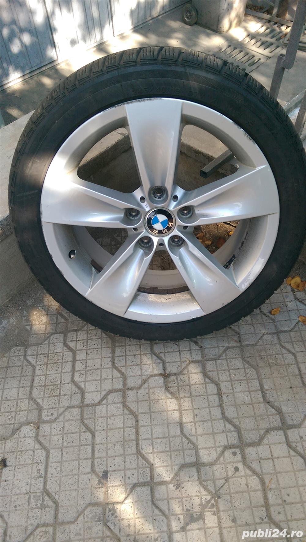 Jante aliaj - BMW echipate cu cauciucuri de iarna 245/40/r18
