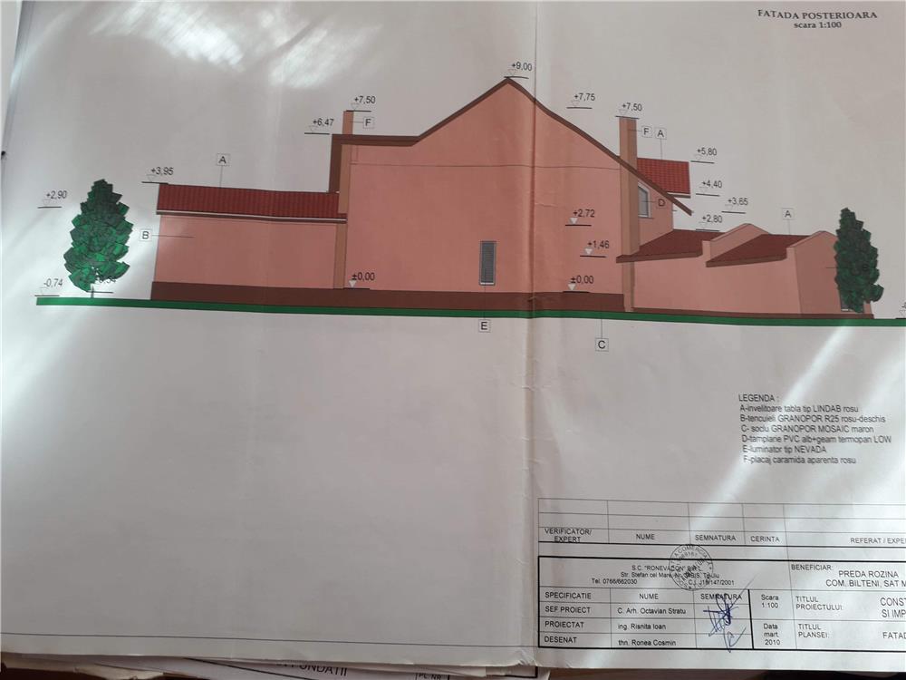 Vanzare  terenuri constructii  2000 mp Gorj, Rovinari  - 22000 EURO