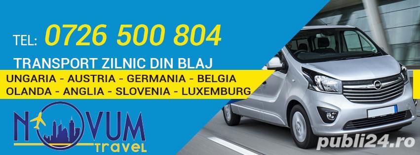 Transport zilnic Blaj Ungaria Austria Germania Belgia Olanda Anglia Slovenia Luxemburg la destinatie