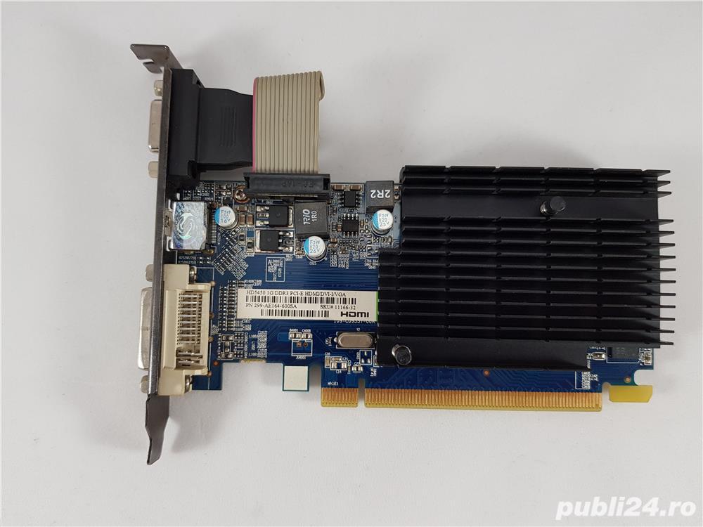 Placa Video Sapphire AMD Radeon HD5450 650Mhz 1GB DDR3 HDMI DVI VGA DirectX 11