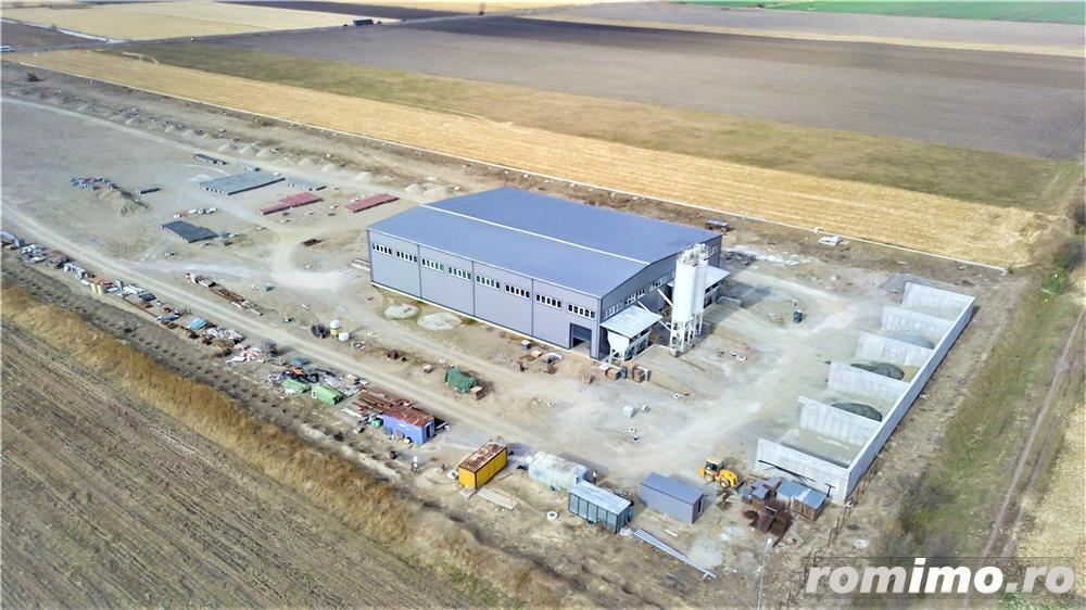 Fabrica complet automatizata pentru prelucrarea betonului