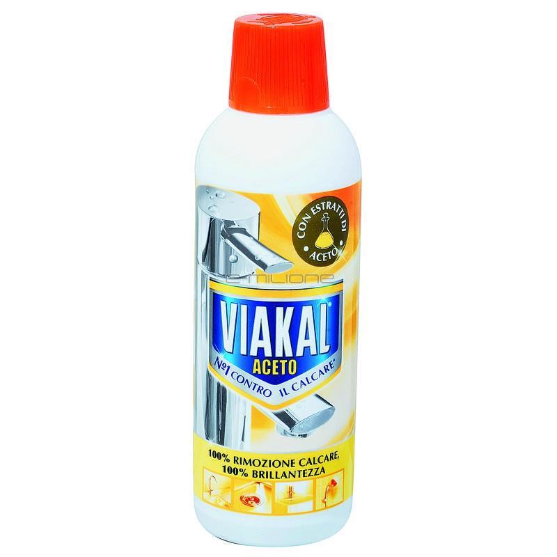 Anticalcar lichid Viakal cu otet 500 ml