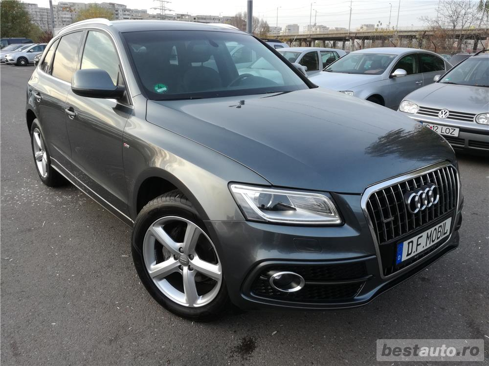 Audi Q5 2.0TDI S-LINE Sport Packet Plus 177CP Quattro 2013 FULL OPTIONS