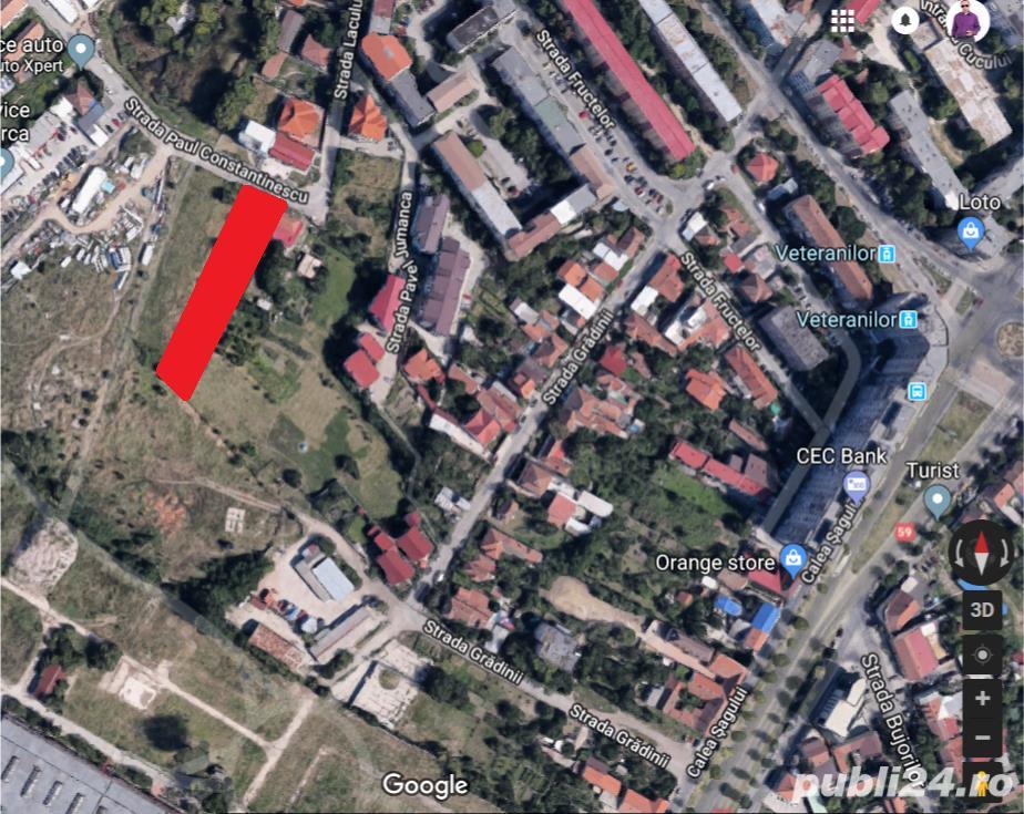 Teren intravilan rezidential P+4 sau comercial, langa Shopping City Timisoara