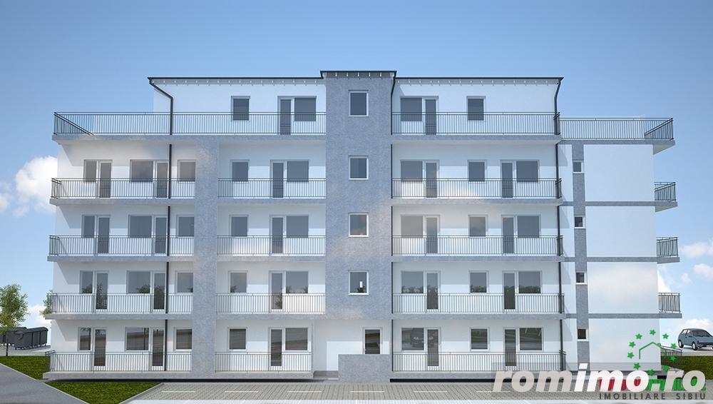 Ansamblu imobiliar nou apartament cu 2 camere