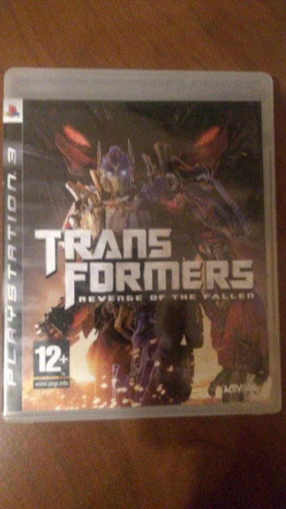 Vand Transformers Revenge of the Fallen PS3 Playstation 3