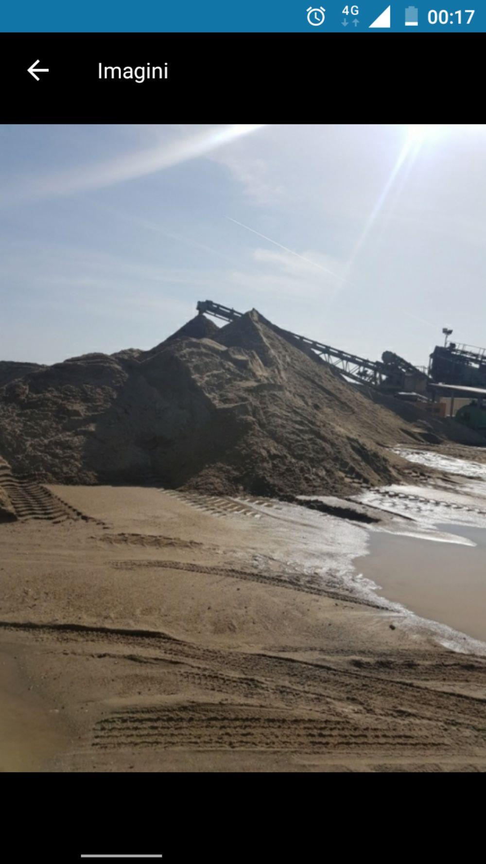 Transport nisip balast șorț pământ griblura ridic moloz cu bobcat si camionete