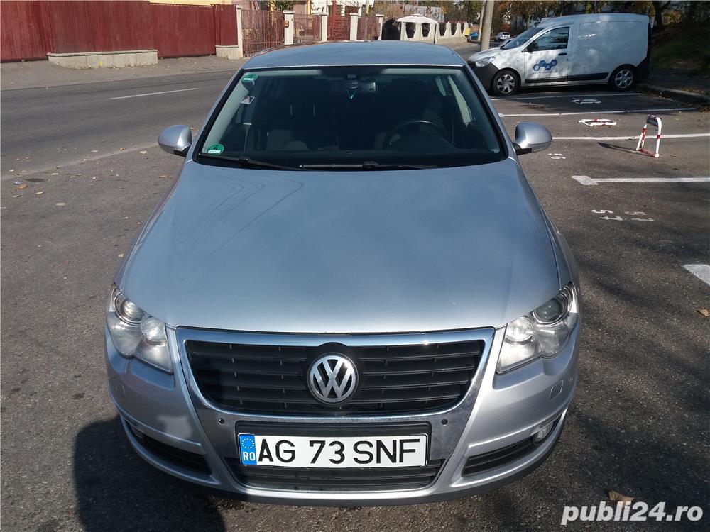 VW Passat B6 din 2008, 2000 cmc, 140 cai, o axa cu came.