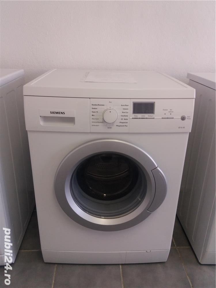 Masina de spălat rufe Siemens. Model nou.