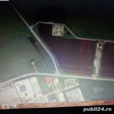 Teren intravilan de vanzare zona industriala - Parcul industrial Vest
