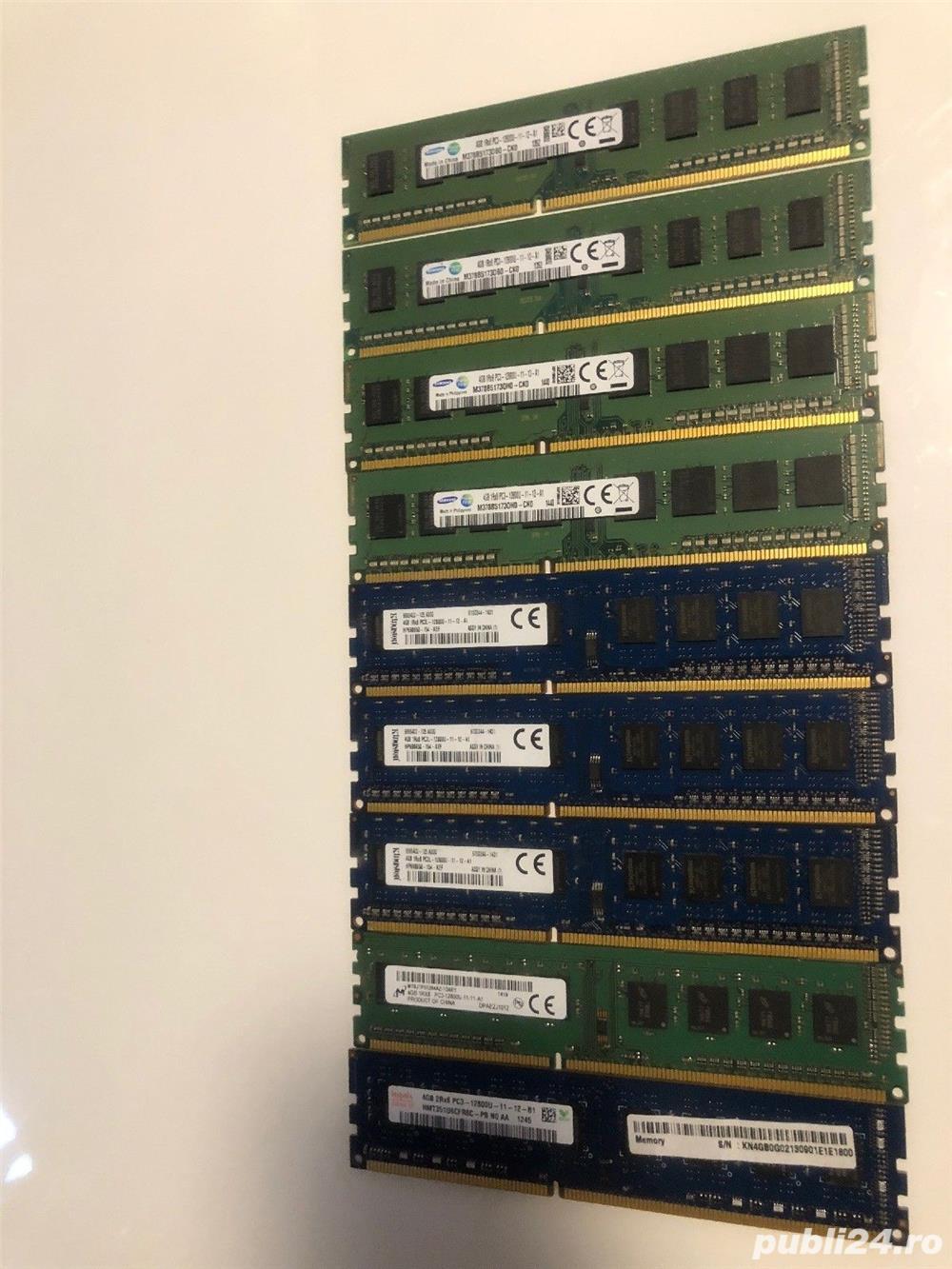 Memorii 4 gb DDR3 1600mhz