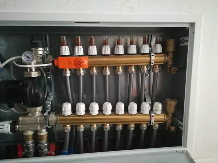 Instalatii termice,sanitare,solare,gaze,climatizare,ape. Încălzirii pardoseala,experienta Garantie