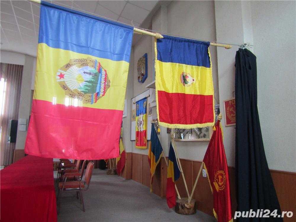 steag, drapel comunism stema  REPUBLICA SOCIALISTA ROMANIA , RSR 140x90 cm, nou