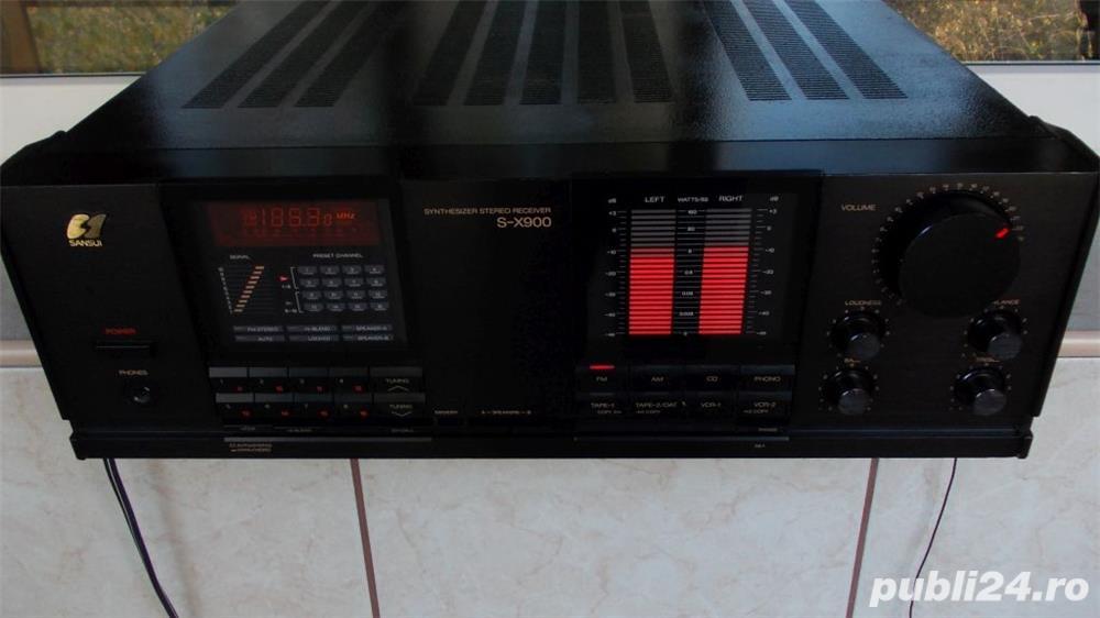 Amplituner SANSUI Sx-900 amplificator+radio receiver vintage JAPAN