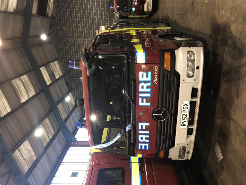 Masina de pompieri autospeciala stins incendii