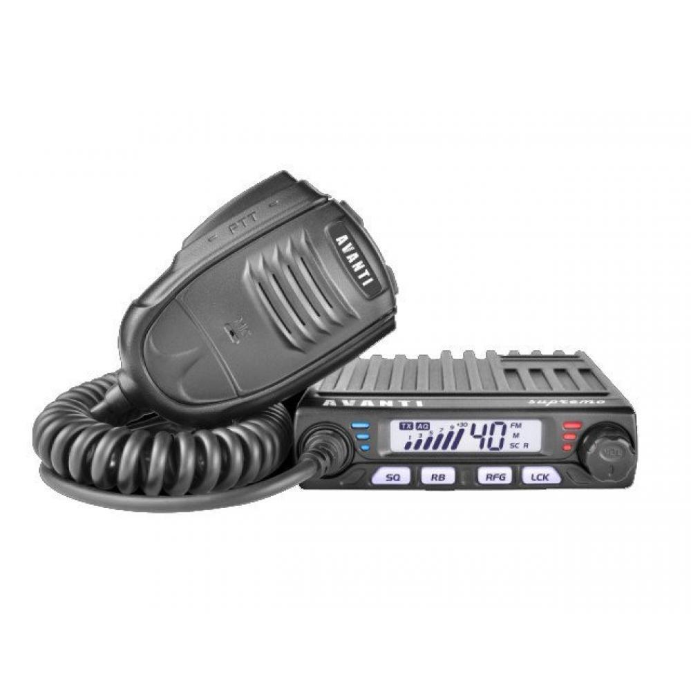 Statie radio CB AVANTI SUPREMO cu squelch automat,(NOU, CU FACTURA SI GARANTIE)