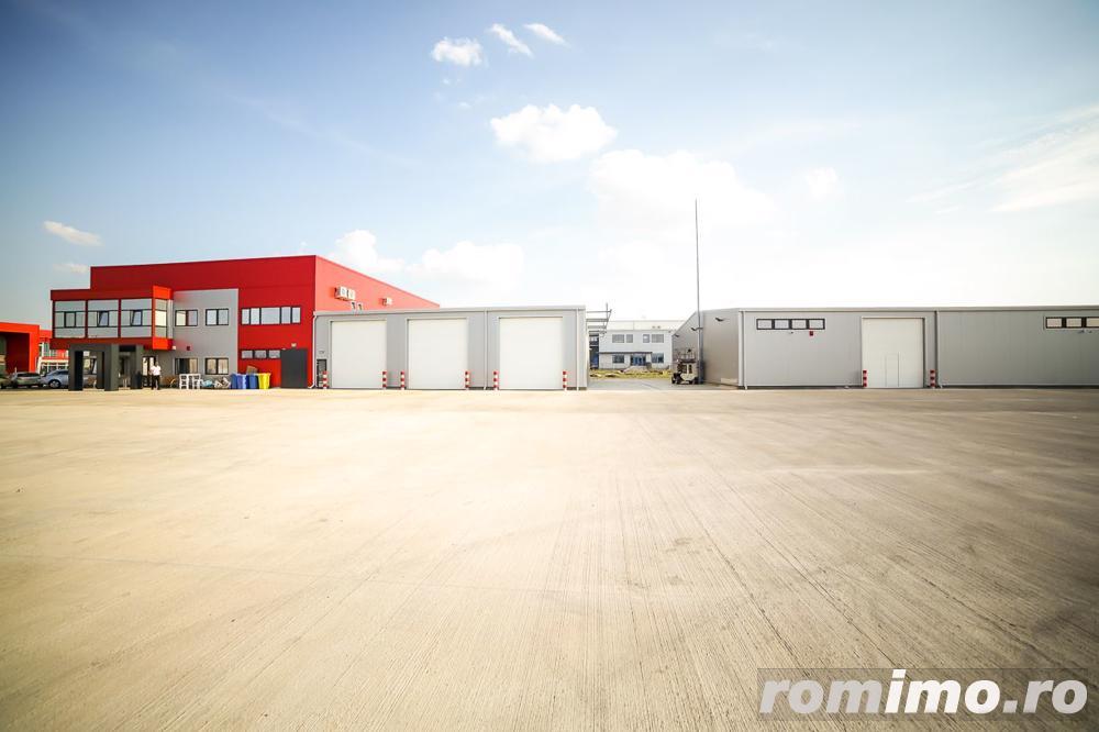 Hala 600 mp de închiriat în zona industrială Sud Zădăreni