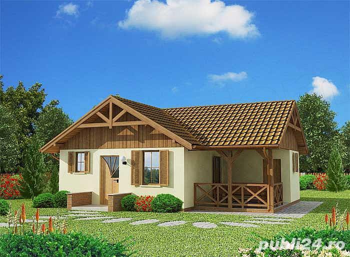 Kit lemn casă vacanță 60 mp