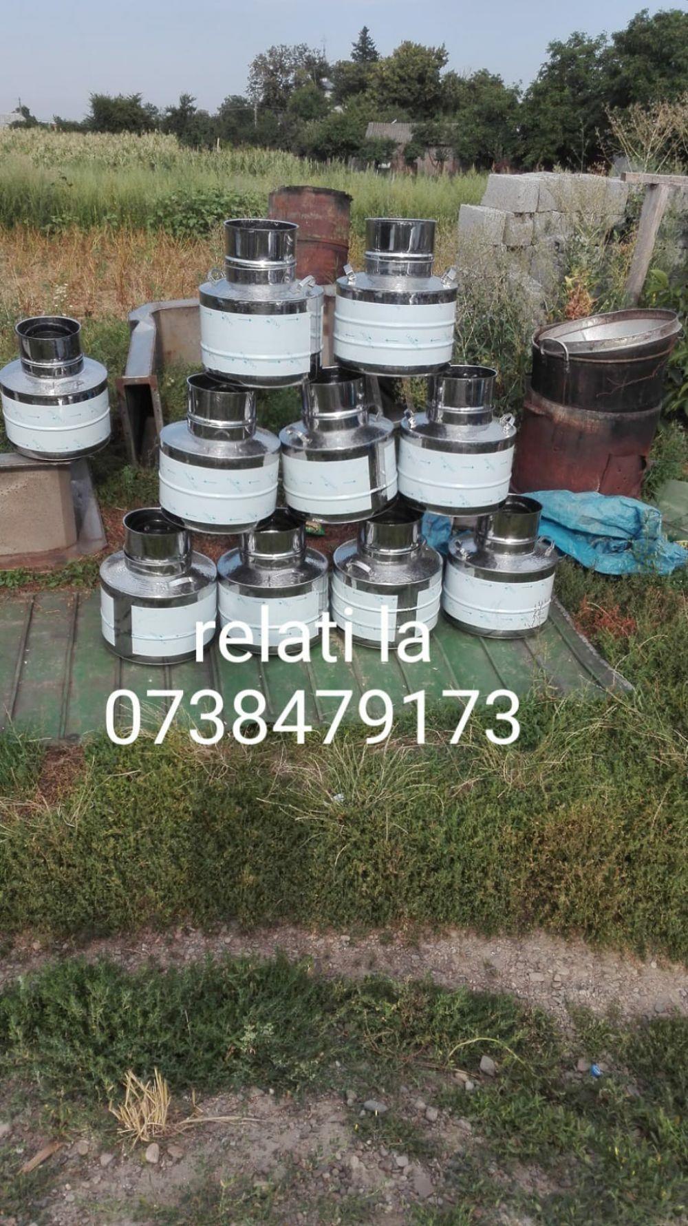 Vand cazane pentru țuică. Din 0738479173 0743909366 Inox . Alimentar Cupru alimentar avem pe stoc de