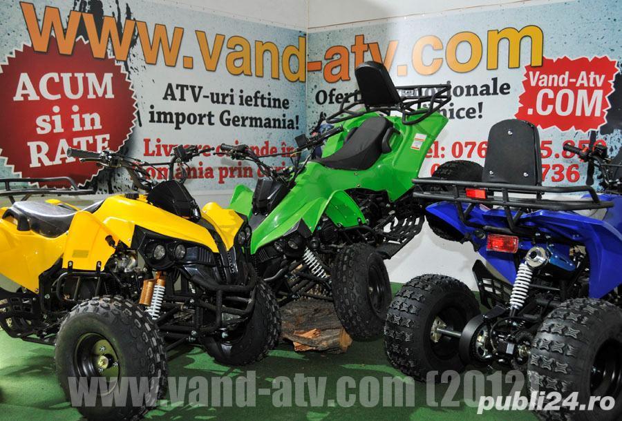 UNIC DEALER!! Atv Adller Warrior Bashan 125cc Cadou Casca + Trusa Scule