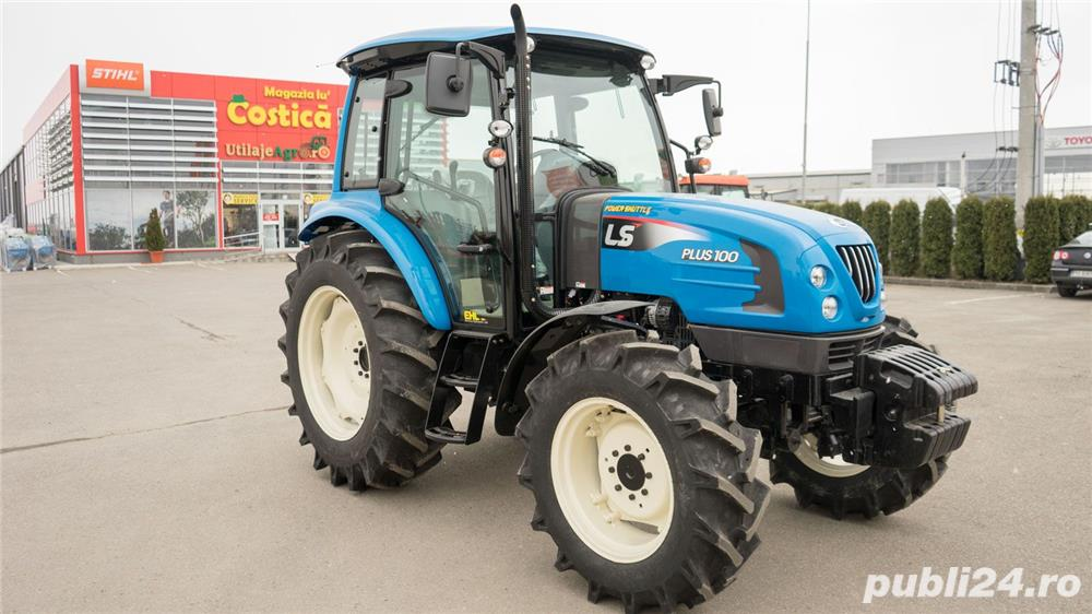 Tractor LS model PLUS100 CAB, 95 CP