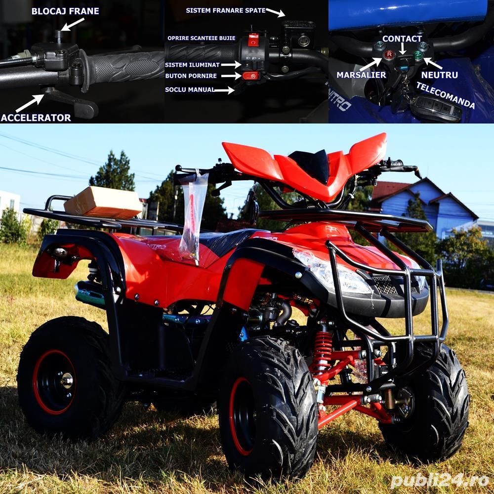 OFERTA IMPORT GERMANIA ATV  T-Rex 125cc Import Germania CASCA CADOU.