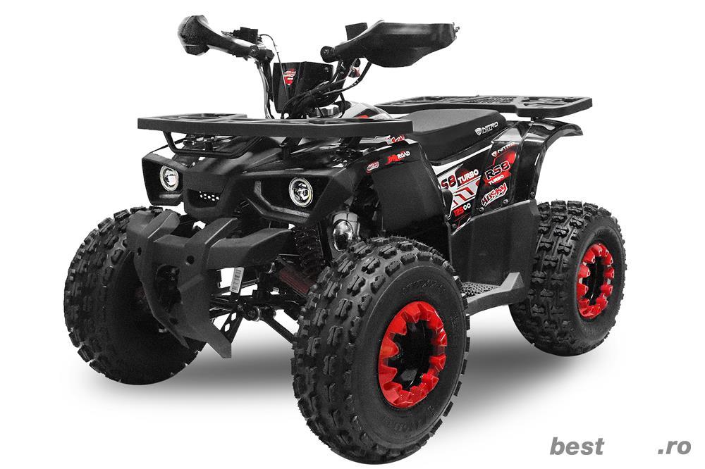 ATV BEMI 125cc Husky RS8 Jante 8'' cutie DNR Automat