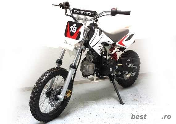 "MOTO CROSS 125CC DIRT BIKE DB-612 Automatic J14"" e-Starter"