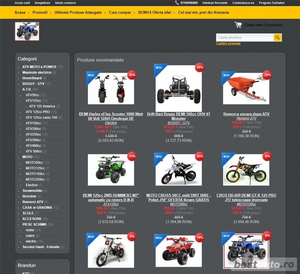 Oferta ATV MOTO Bemi Romania