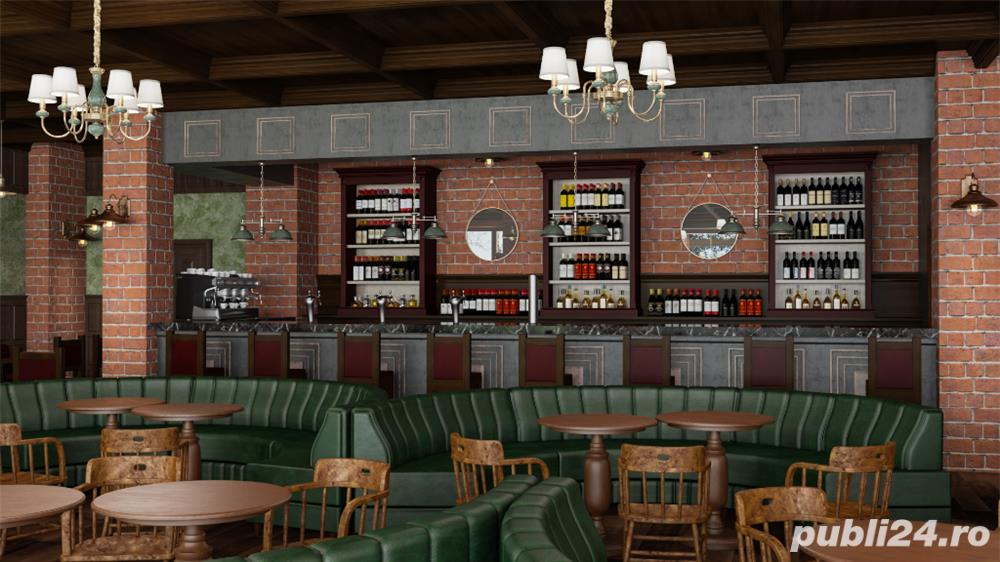 Design de interior, baruri, cafenele, restaurante, terase.