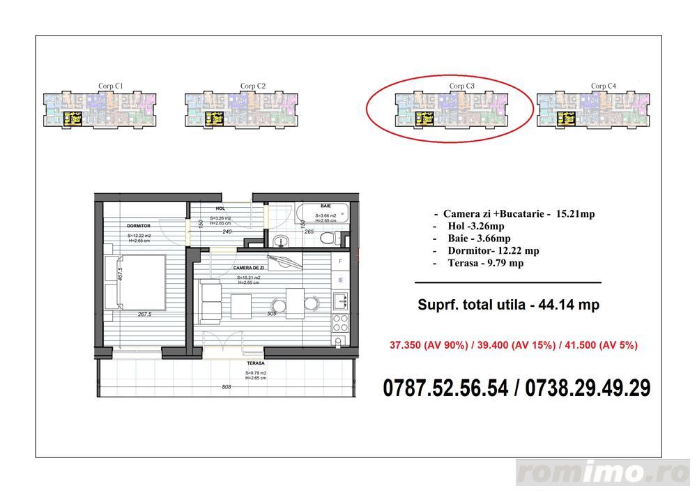 2 camere (tip studio) - Metrou Berceni (200 metri)