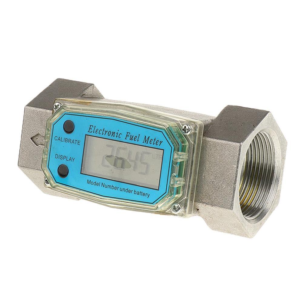 Contoar debiitmetru digital cisterna GPL sau apa lapte si LA POMPA MOTORINA  debitmetru 1.5 toli