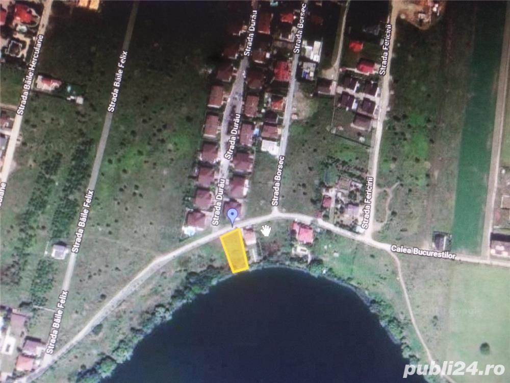 Teren la lac Pantelimon Lebada