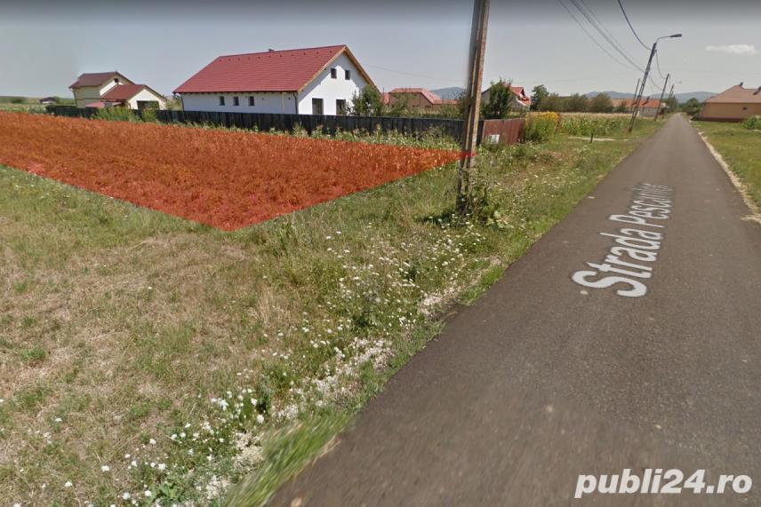 Vanzare  terenuri constructii  2000 mp Brasov, Podu Oltului  - 28000 EURO