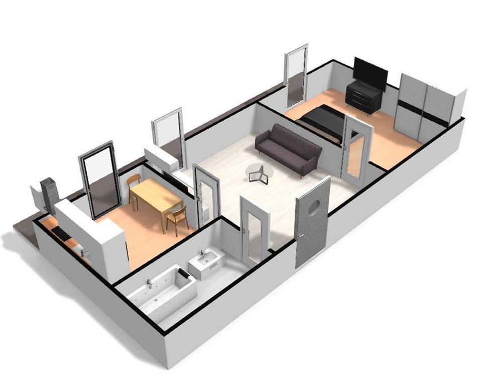 Dezvoltator apart 2 cam intabulat parcare subterana 45mp +10mp Cl.Cisnadiei