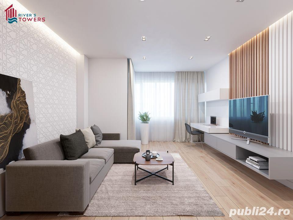 Dezvoltator-Apartament 1 camera River's Towers