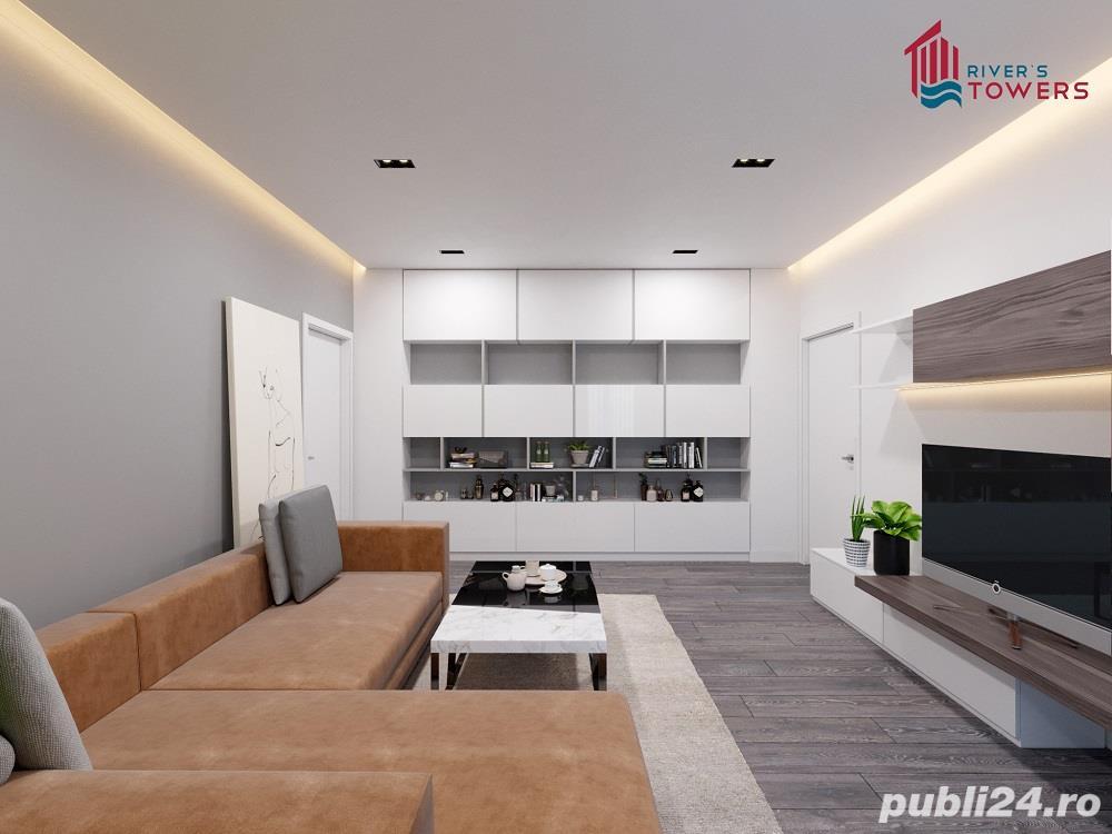 Dezvoltator-Apartament 2 camere River's Towers