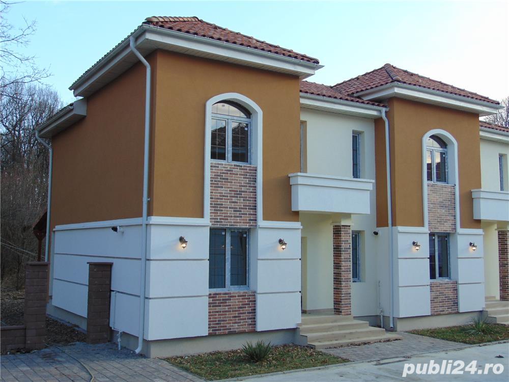 ANSAMBLU rezidential PROIECT deosebit case cu 4 camere P+1+pod 2 placi 2018 acoperis Tigla
